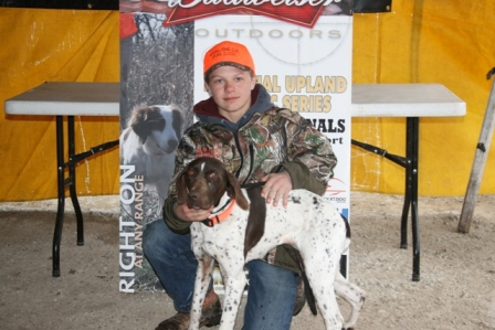 Cody Jacobsen & Rose Youth Champion